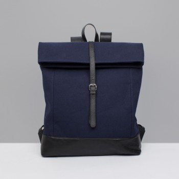 BACKPACK B2  / NAVY & BLACK
