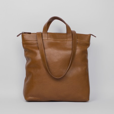 CONVERTIBLE BACKPACK B1 / CHESTNUT