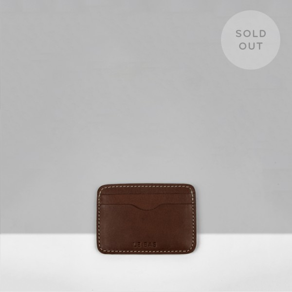 CARD HOLDER C3 / CHESTNUT
