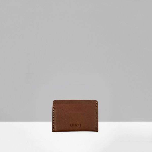 CARD HOLDER C1 / CHESTNUT
