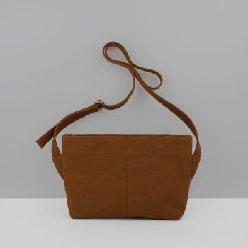 UTILITY CROSSBODY BAG / BURNT ORANGE