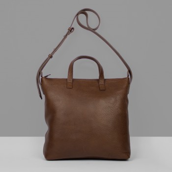 MEDIUM BAG M1 / BROWN