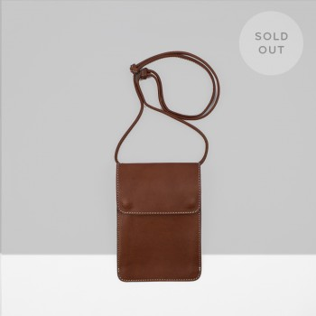 SHOULDER POUCH S3 / CHESTNUT