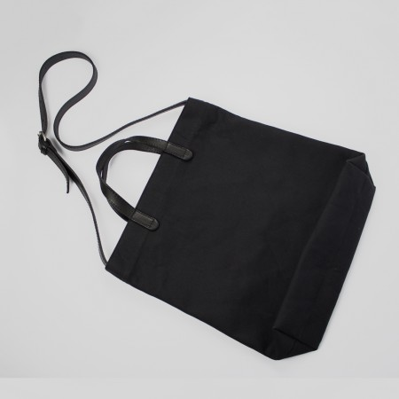 ALL DAY TOTE /  BLACK & BLACK