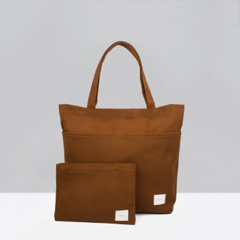 UTILITY TOTE / BURNT ORANGE