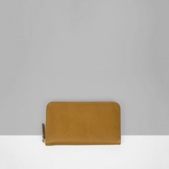 ZIP WALLET / TAN