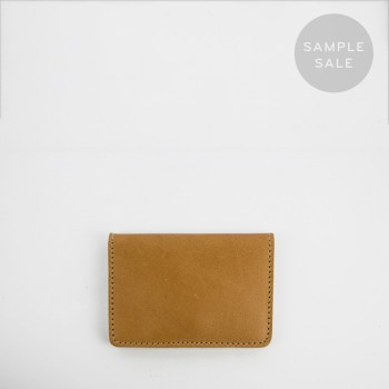 CARD HOLDER C2 / TAN / SAMPLE SALE