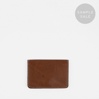 CARD HOLDER C2 / CHESTNUT / SAMPLE SALE