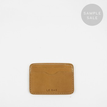 CARD HOLDER C3 / TAN / SAMPLE SALE