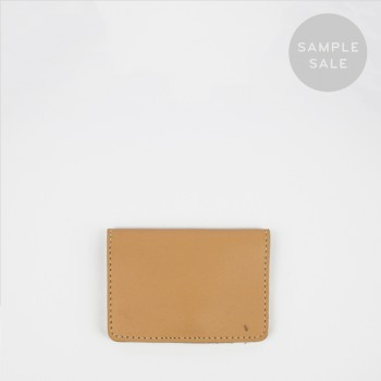 CARD HOLDER C2 / NATURAL / SAMPLE SALE